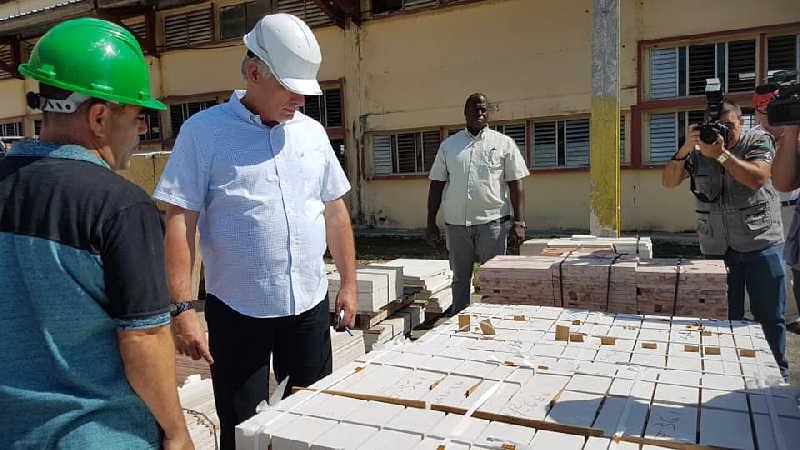 cuba, granma, miguel díaz-canel, presidente de cuba