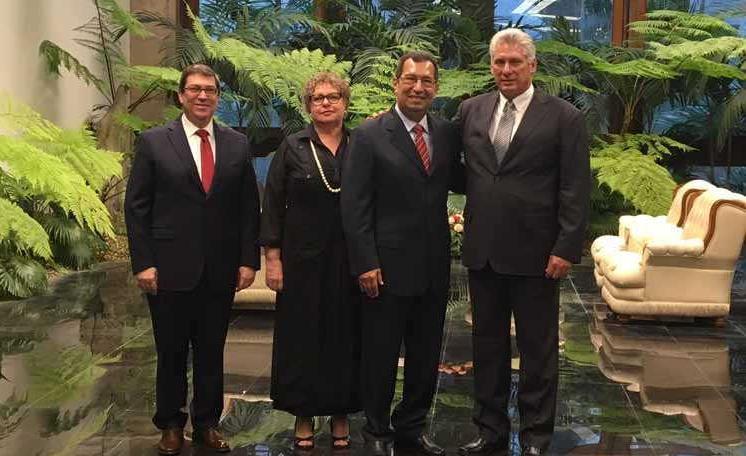 cuba, cartas credenciales, embajadores, miguel diaz-canel, presidente de cuba, minrex