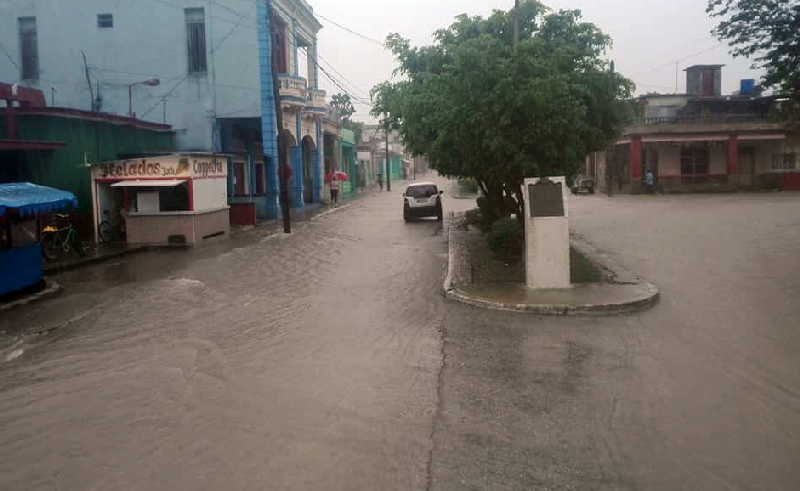 sancti spiritus, lluvias intensas en sancti spiritus, centro meteorologico provincial