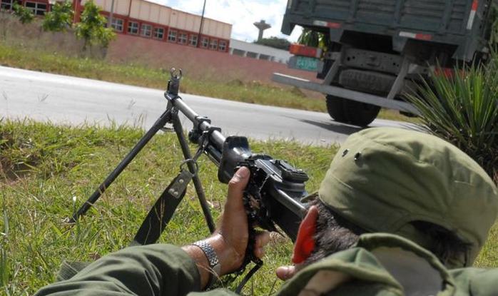 sancti spiritus, defensa civil, consejo de defensa, milicias de tropas terriroriales