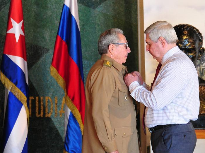 cuba, raul castro, premio lenin, rusia, partido comunista de rusia