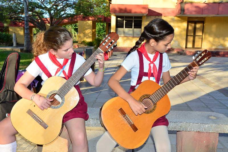 sancti spiritus, cultura, escuela de musica, escuela elemental de arte ernesto lecuona