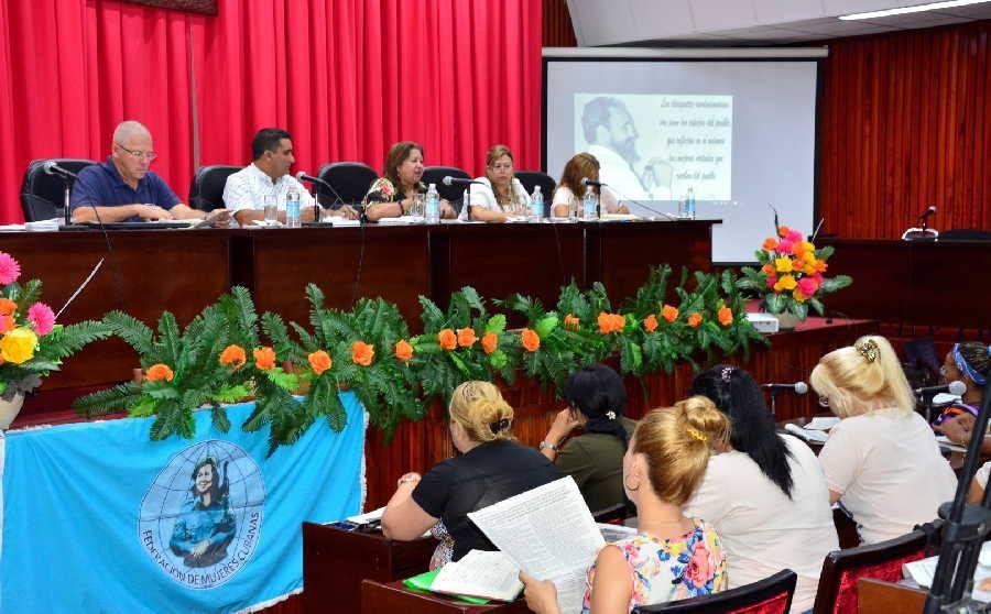 El encuentro fue oportuno para el análisis de la implementación de los objetivos de trabajo del X Congreso de la FMC.