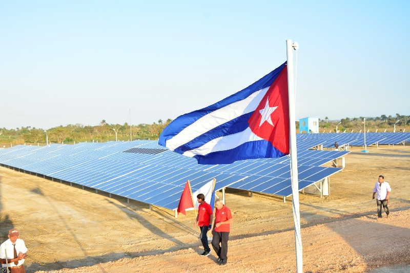 sancti spiritus, empresa electrica, yaguajay, mayajigua, parque solar fotovoltaico,