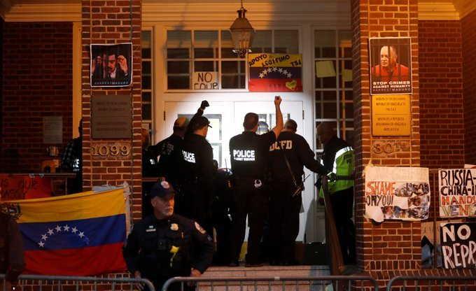 venezuela, estados unidos, venezuela-estados unidos, injerencia, embajadas