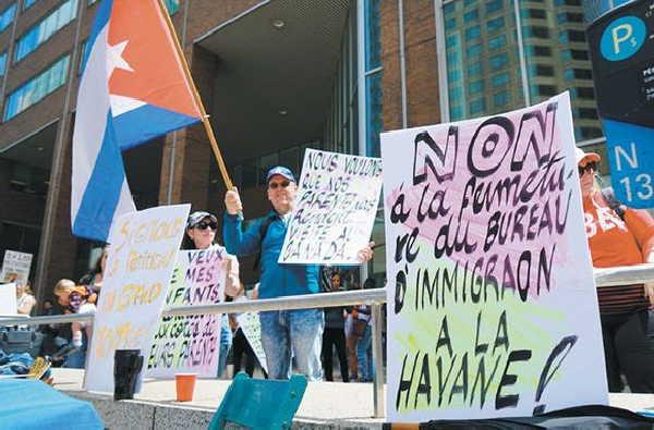 canada, cuba, embajadas, inmigracio