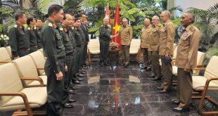 Raúl Castro, Vietnam, Cuba