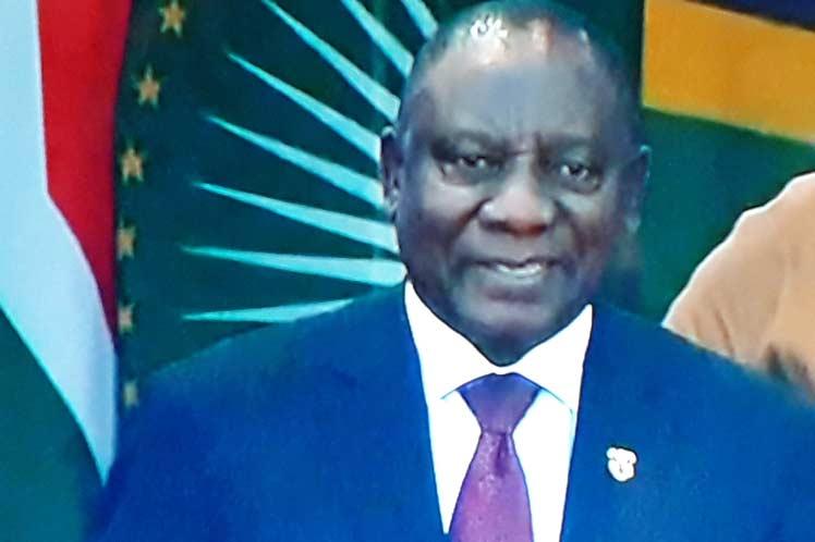Ramaphosa se convierte en el quinto presidente de Sudáfrica desde las primeras elecciones democráticas de 1994. (Foto: PL)