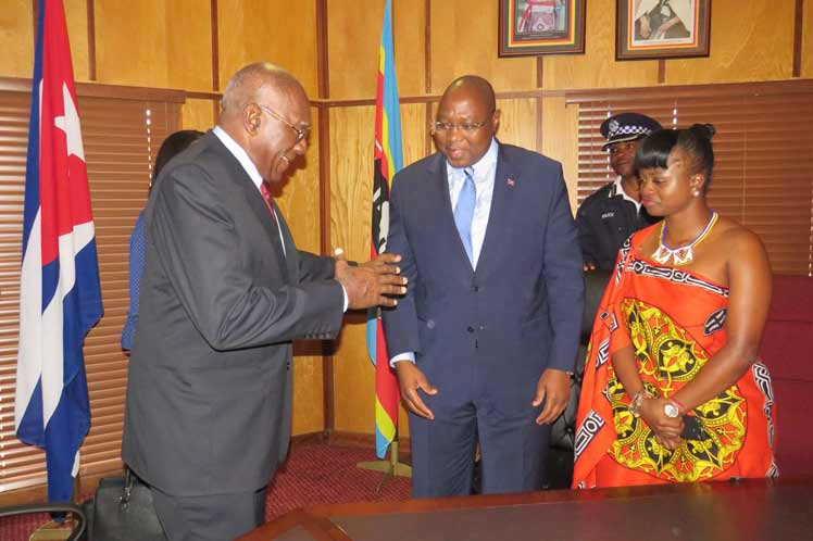 cuba, salvador valdes mesa, eswatini, primer vicepresidente de cuba