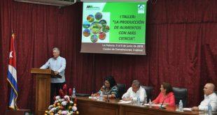 Díaz-Canel, ciencia, agricultura