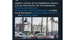 Cuba-EE.UU., bloqueo, Estados Unidos