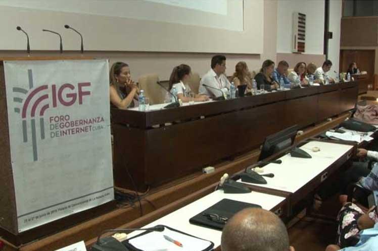 El foro es considerado vital para construir el internet que necesitamos los cubanos. (Foto: PL)