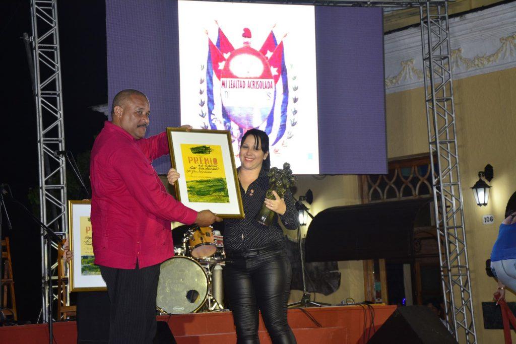 Los Premios de la Ciudad fueron entregados oficielmente en la Gala.