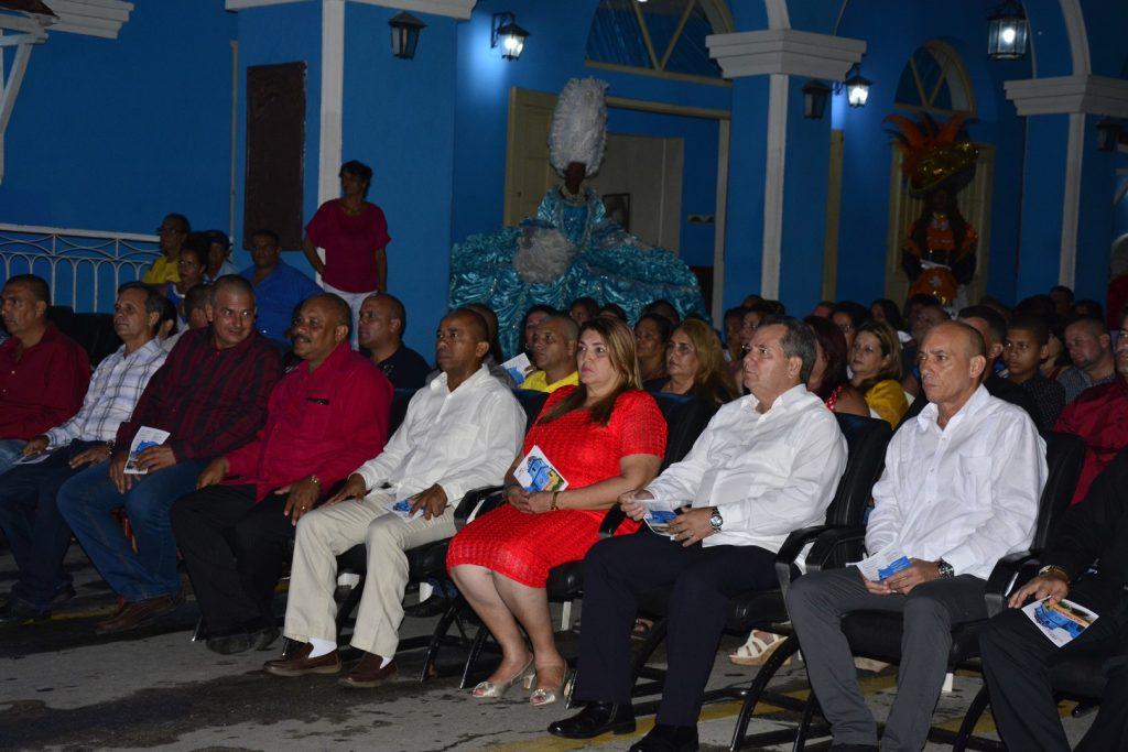 José Ramón Monetagudo y las principales autoridades de la provincia asistieron a la Gala.