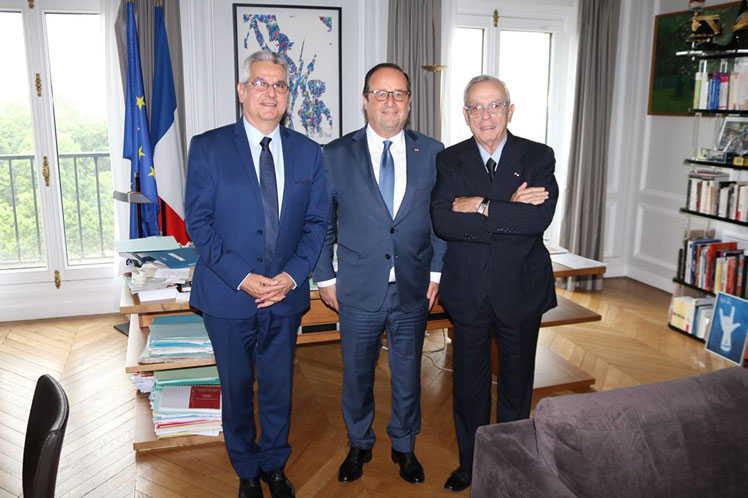 cuba, francia, eusebio leal, François Hollande