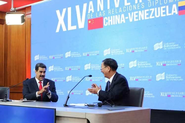 Maduro destacó que la alianza entre ambas naciones tomó impulso y se consolidó. (Foto: PL)