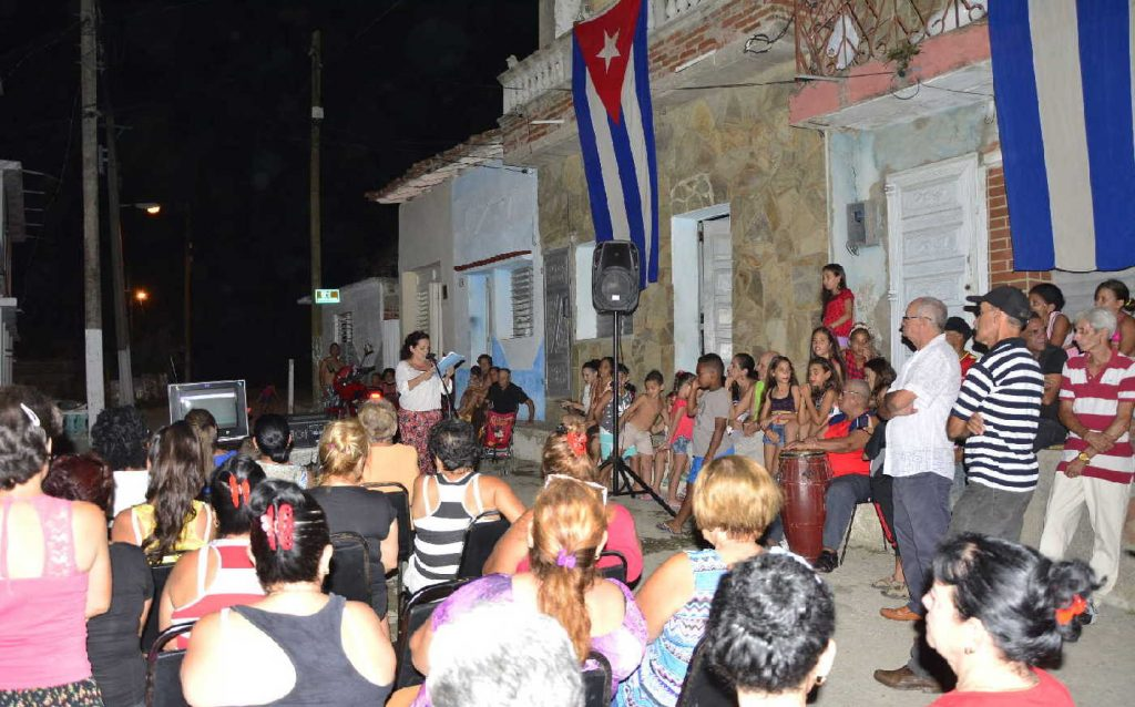 sancti spiritus, fmc, federacion de mujeres cubanas, ley helms-burton