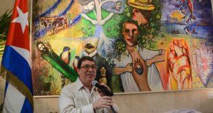 cuba, artes plasticas, bloqueo, bruno rodriguez, canciller cubano