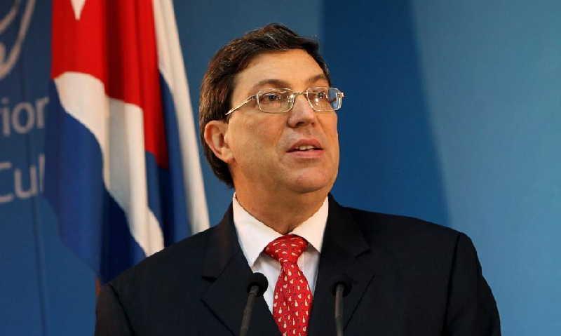 Condena Canciller cubano política exterior agresiva de Estados Unidos