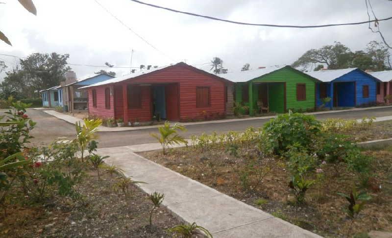 sancti spiritus, construccion de viviendas, huracan irma