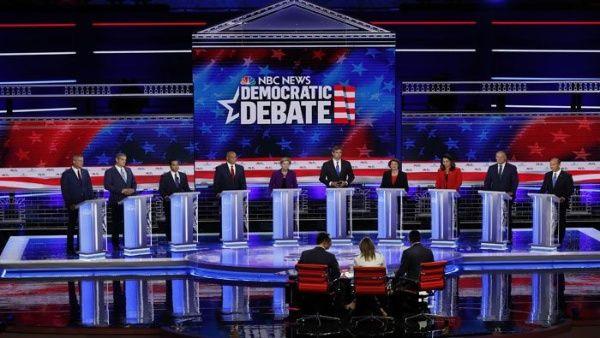 El debate de los candidatos demócratas fue celebrado en la ciudad de Miami, Florida. (Foto: TeleSUR)