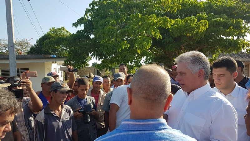 cuba, pinar del rio, presidente de cuba, miguel diaz-canel, consejo de ministros