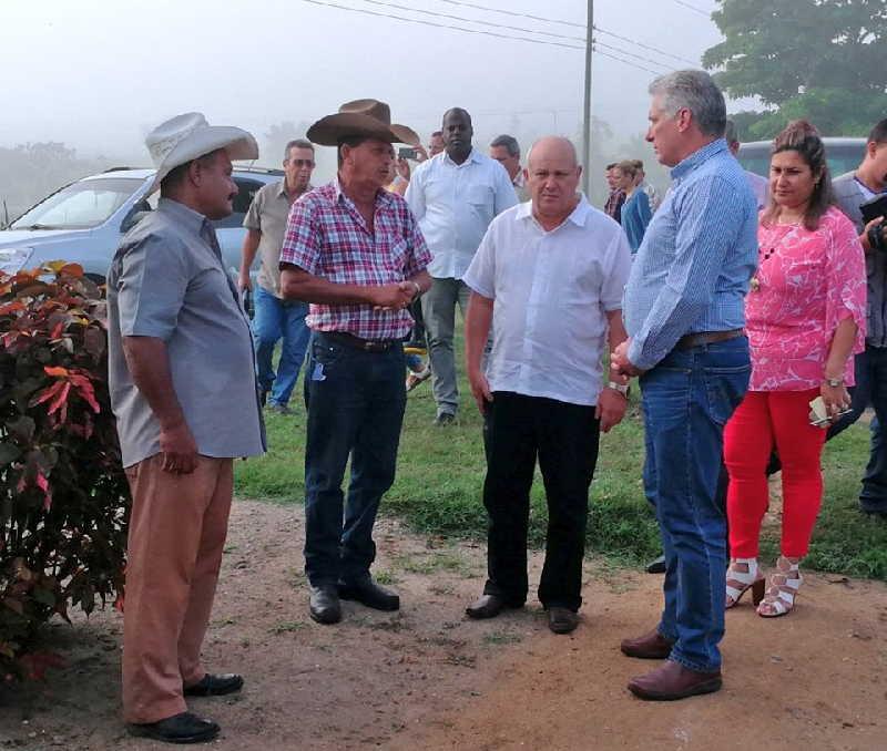 camagüey, miguel diaz-canel, presidente de cuba