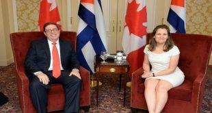 Cuba, Canadá, relaciones