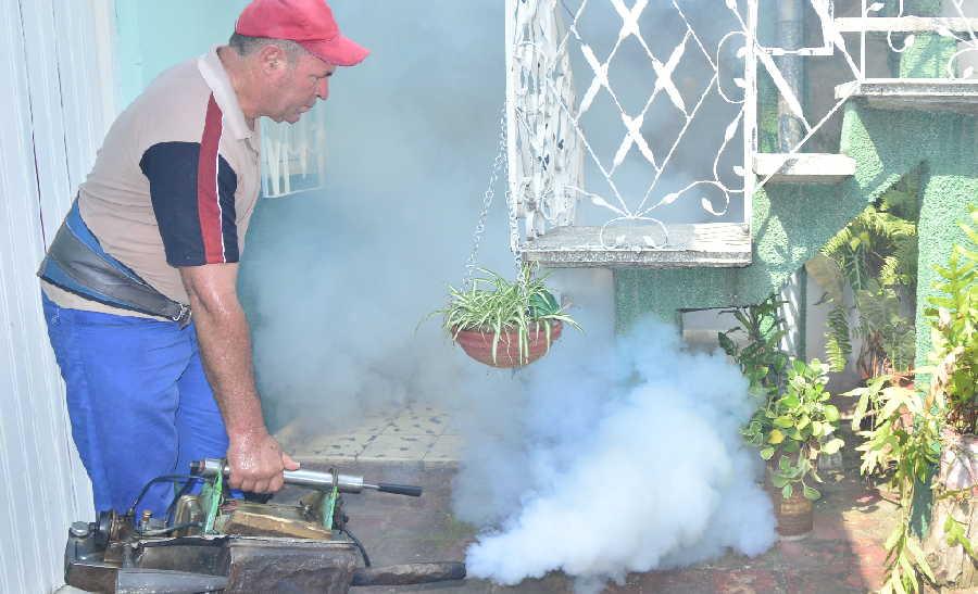 sancti spiritus, dengue, aedes aegypti, fumigacion, salud publica
