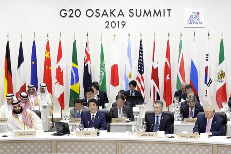 Los ojos del mundo estaban puestos en Osaka en medio de tensiones económicas globales. (Foto: PL)