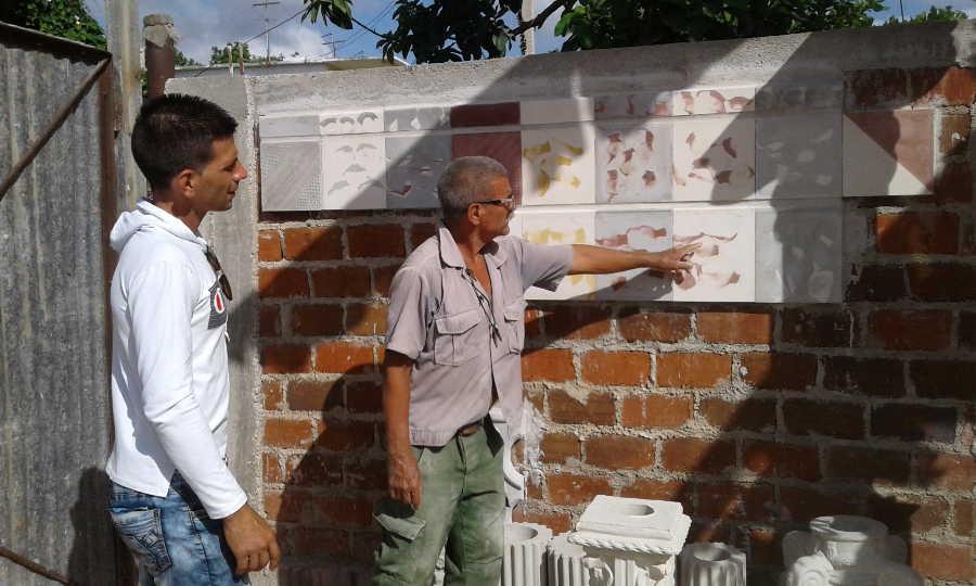 sancti spiritus, fomento en 26, construccion de viviendas, materiales de la construccion