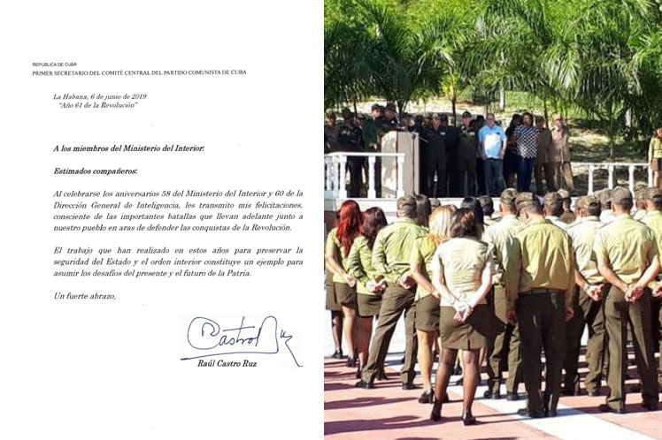 El Ministerio del Interior de Cuba fue creado el 6 de junio de 1961. (Foto: PL)