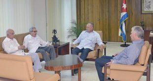 Cuba, Venezuela, Raúl Castro, Díaz-Canel. Machado Ventura, Diosdado Cabello