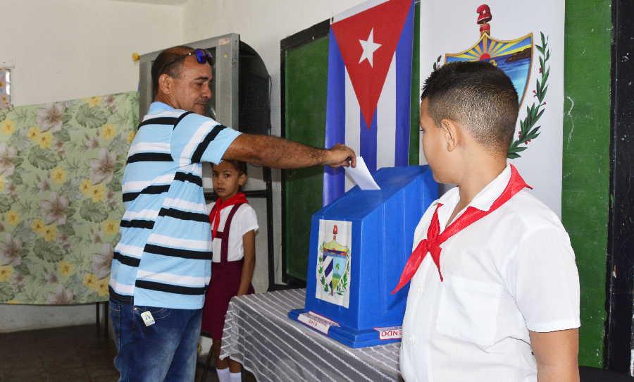 sancti spiritus, cuba, ley electoral, constitucion de la republica