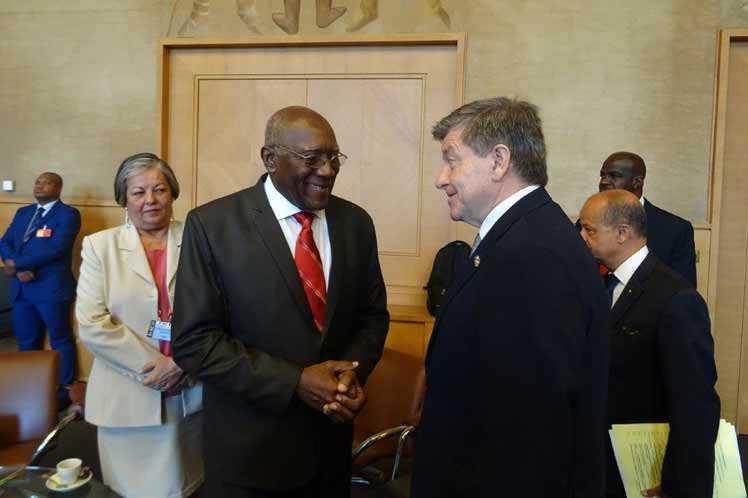 cuba, organizacion internacional del trabajo, oit, bloqueo de eeuu a cuba, ley helms-burton, salvador valdes mesa, primer vicepresidente de cuba
