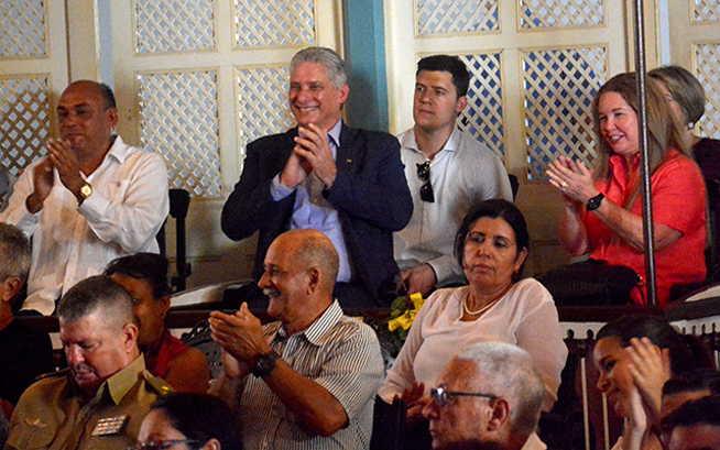 villa clara, santa clara, miguel diaz-canel, presidente de cuba