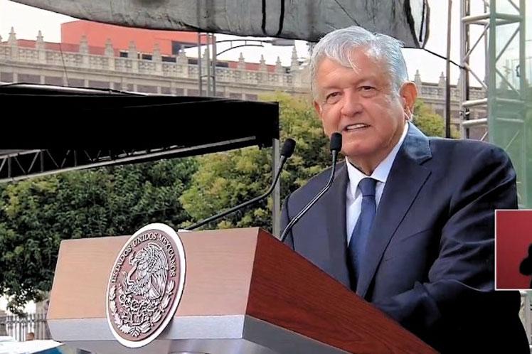 Con lo conseguido en siete meses bastaría para demostrar que no ha sido más de lo mismo, aseguró el presidente mexicano. (Foto: PL)