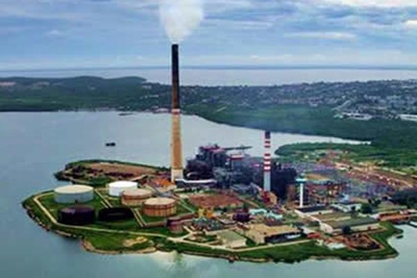 La central termoeléctrica 10 de Octubre, en Nuevitas, fue una de las que afrontó problemas que inciden en la baja de la generación.