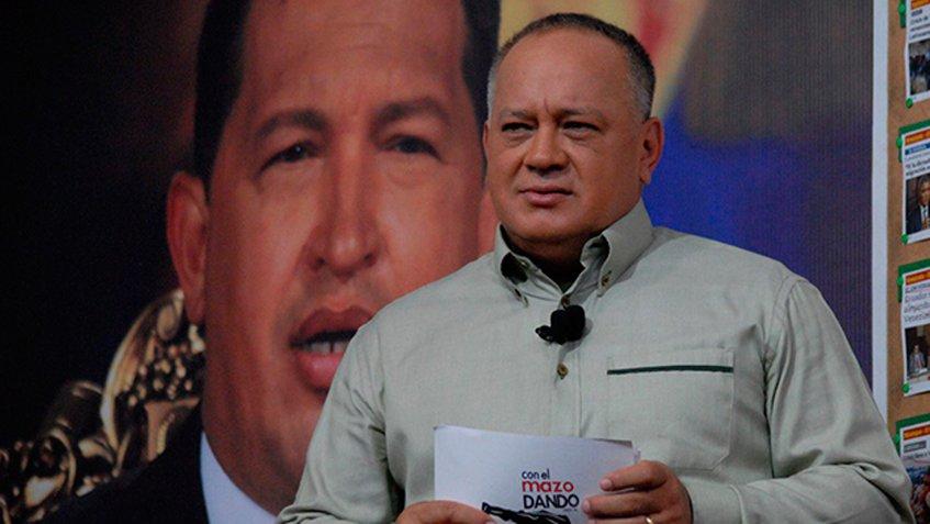 Cabello desestimó una apuesta por comicios presidenciales en las actuales negociaciones.