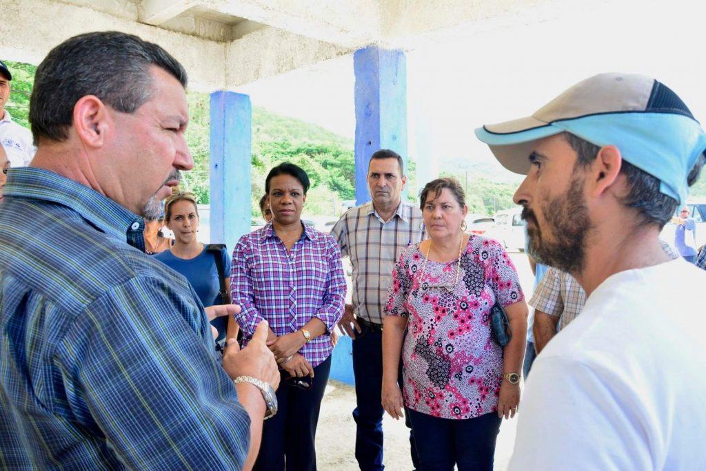 Chapman destacó que las inversiones contribuirán a mejorar el servicio de agua en Trinidad. (Foto: Vicente Brito)