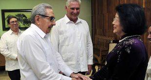 Cuba, Vietnam, Raúl Castr, Díaz-Canel