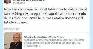 Cuba, Iglesia, religión, Díaz-Canel