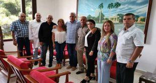 Díaz-Canel, colaboradores, salud