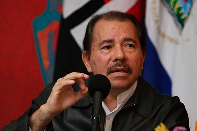 El diálogo por la paz es el único que tiene sentido y cabida en la Nicaragua actual, aseguró el presidente Ortega. (Foto: PL)