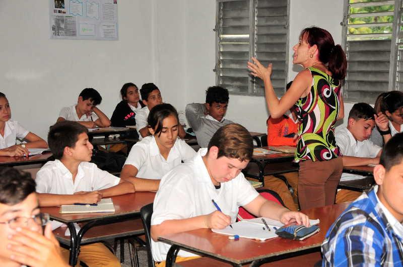 sancti spiritus, ministerio de educacion, mined, concurso, ipvce, enseñanza secundaria
