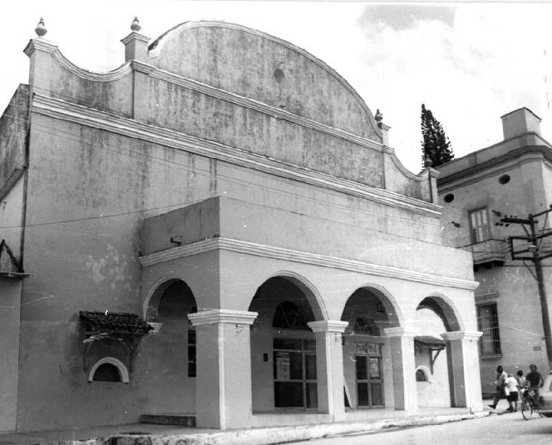 sancti spiritus, teatro principal, patrimonio