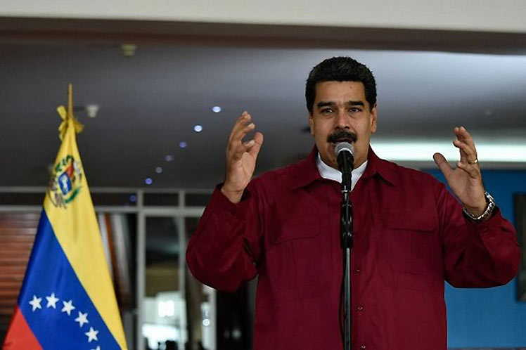 The Venezuelan President thanked the resolution presented by the Chair of the Non-Aligned Movement.