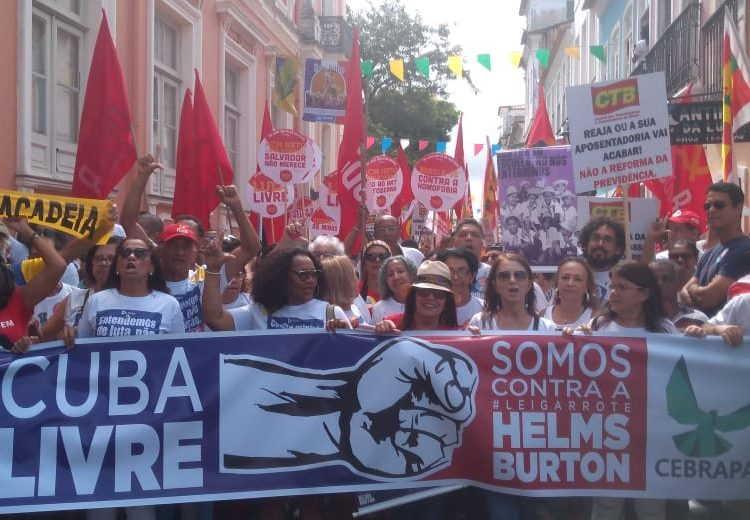 brasil, ley helms-burton, bloqueo de ee.uu a cuba