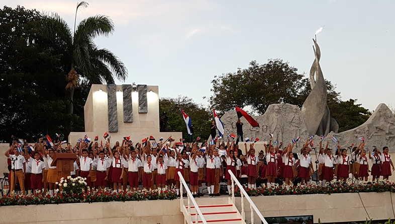 cuba, granma, 26 de julio, asalto al cuartel moncada, dia de la rebeldia nacional, miguel diaz-canel, presidente de cuba