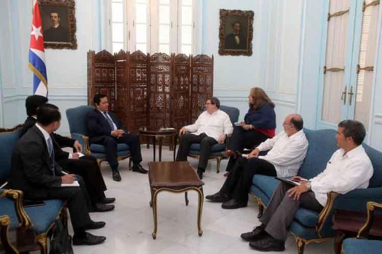 Ambas partes ratificaron el buen estado de las relaciones bilaterales. (Foto: PL)